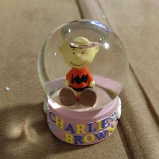 Charlie Brown水晶球(絕版)