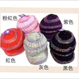 MIT台灣製 發熱雙層內裡針織帽 (5色可選) 保暖帽毛線帽針織毛帽 超柔雙層內裡 )