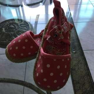 全新Baby Gap女鞋16公分