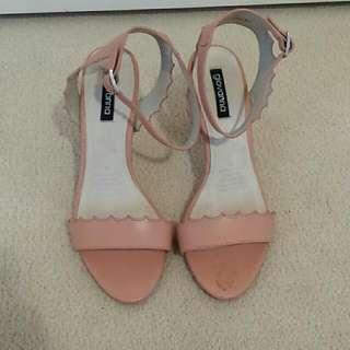 Giovanna Salmon Pink Heels