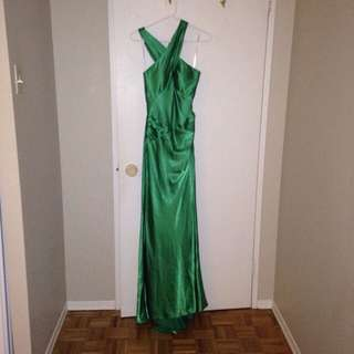 Green Formal Floor Length Gown
