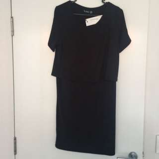 Women's Layered Dress Size 10 BOOHOO