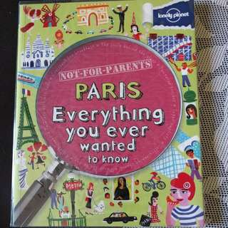 Paris Everything You Ever Wanted To Know  旅遊英文書 含運