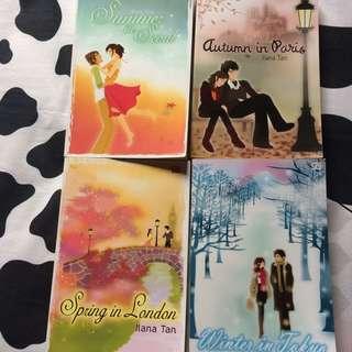 4 Novel Seri Lengkap Ilana Tan!