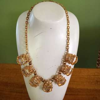 "18"" Gold-plated 'Bling' Costume Jewelry"