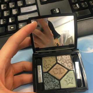 Dior 限量版五色眼影