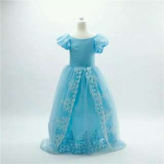 Disney Cinderella Kids Costume Halloween Dress Up Events Performance Dnd Costume Celebration Birthday Party
