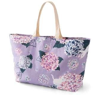 日本felissimo貓部正版和風大購物袋