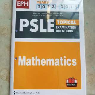 PSLE Maths Past Year Papers (2013-2015)