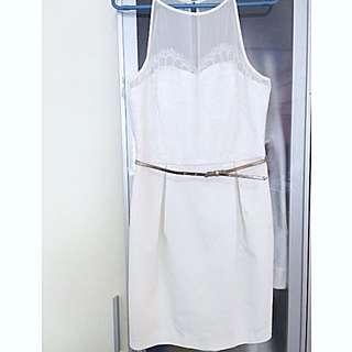 Forever New -White Bridesmaid Dress