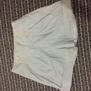 Celana pendek high waist stripes - Gaudi