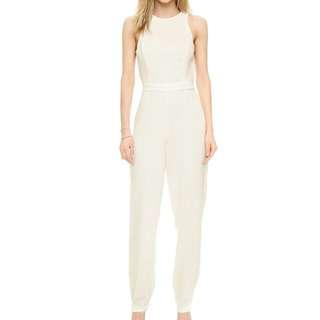 Grace - White Jumpsuit
