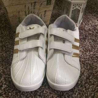 Adidas Stripe Golds