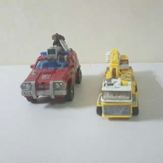 Transformers Leader Class Mudflap And Inferno