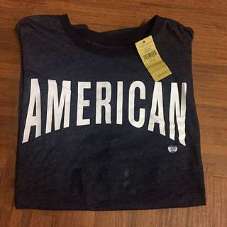 「美國購入🇺🇸」AE / American Eagle 黑灰短T