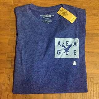 「美國購入🇺🇸」AE / America Eagle 藏藍短T