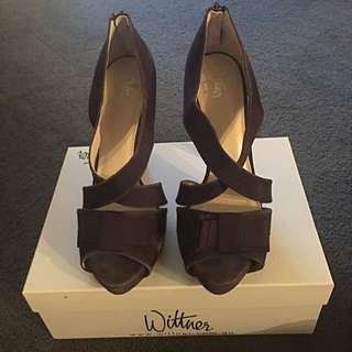 Wittner Purple High Heels