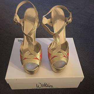 Wittner Gold High Heels