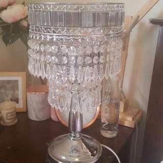 Glamorous lamp