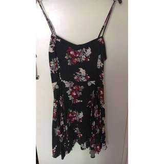 Black Spring Sundress