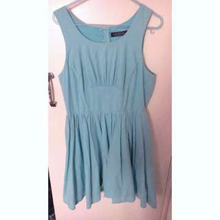 Light Blue Glassons Dress