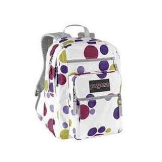 Jansport Multi Color Polka Dot Backpack