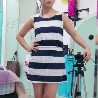Stripped Tank Dress