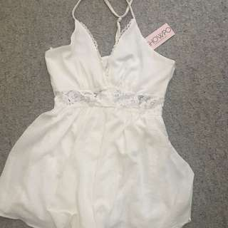 White Showpo Playsuit New With Tags