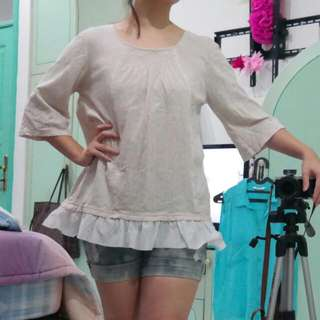 Japanese Frill Top