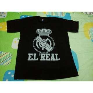 JUAL MURAH Kaos Oblong Real Madrid (EL'REAL)