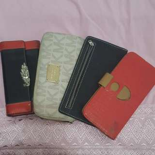 4 Bunch Of Long Wallets