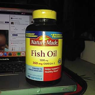 Nature Made-FISH OIL