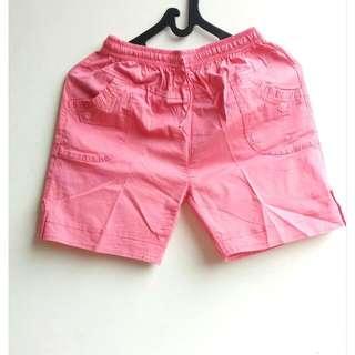 Mini Pink Short Pants