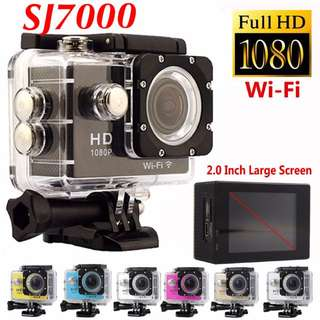 [NEW STOCKS] Sports Action Camera SJ7000 (Accessories Included) 1080p Affordable Sports Camera SJ7000 (Accessories Included) 1080p Waterproof HD Cheap Go Pro Gopro Wifi Waterproof H Cheap Go Pro Gopro SJ 7000 Novatek 96655 BNIB