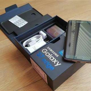 [RESERVED] Excellent Condition Samsung S7 Edge Onyx Black