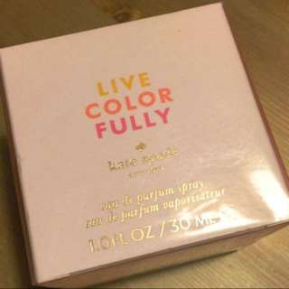 ((可交換))Kate Spade 香水 LIVE COLORFULLY Perfume