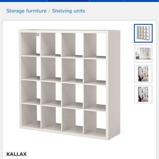 IKEA 4x4 Cube Shelf