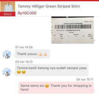 Thank you for shopping! 😘