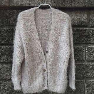 毛海針織外套