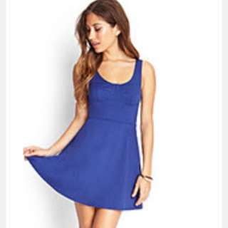 Forever 21 Fit And Flare Dress