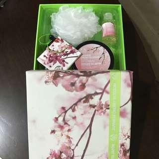 Brand New Body Shop Cherry Blossom Set
