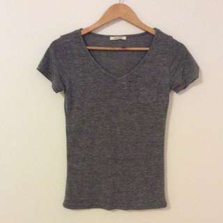 Gorgeous Grey Tee In The Softest Cotton!