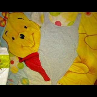 Baju Renang Swimsuit Abuabu