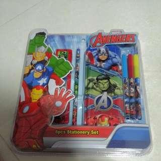 Avengers 6pcs Stationery Set