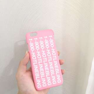 Hotline Bling iPhone 6 Hardcase