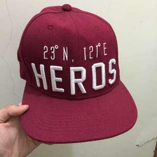 🚚 Heros 酒紅帽