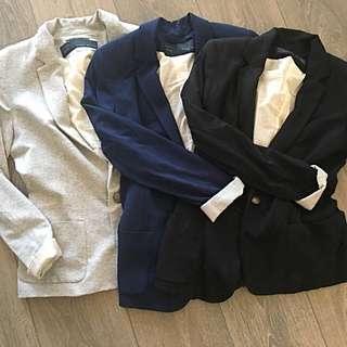 Zara Jersey Blazers