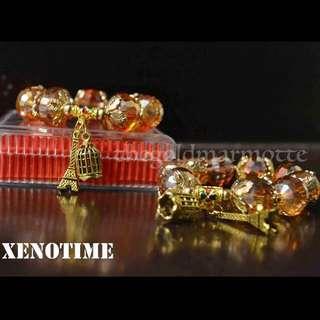 Xenotime Charm Bracelet