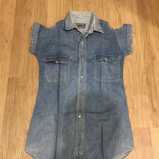 Denim Loose Dress