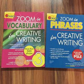Zoom In Vocabulary & Phrases For Creative Writing